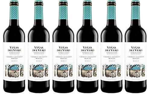 Viñas Del Vero Tinto Cabernet-Merlot - Vino D.O. Somontano - 6 botell