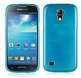 Cadorabo Coque pour Samsung Galaxy S4 Mini en Turquoise – Housse Protection Souple...
