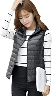 Women Packable Lightweight Winter Down Vest Outdoor Puffer Vest