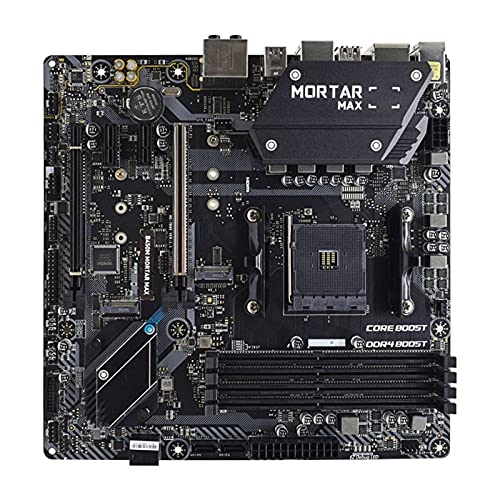 Newwiee Fit for MSI B450M Mortar MAX AMD B450 B450M Am4 Placa Base para Juegos Ddr4 64G M.2 Ryzen 5 3600 5600X CPU Gaming Pc Placa Base PCI-E 3.0 X16 Ranura