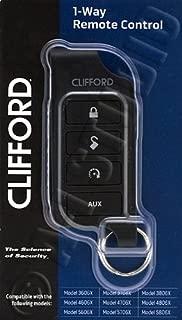 Clifford 7656X 1-Way Remote Control