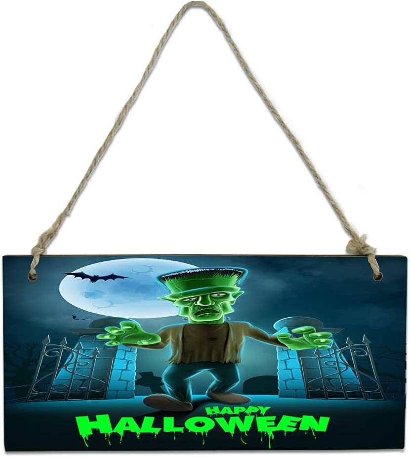 New product type Wood Plaque Wall Hanging Sign for Challenge the lowest price of Japan Bathroom Gre Halloween Kitchen