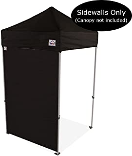 Impact Canopy 5-Foot Canopy Tent Wall, Sidewall Only, Black