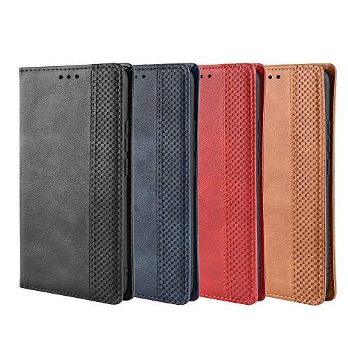 KDLLK Handy-Schutzhülle, Für Huawei Mate 20 RSPorsche Design Fall Brieftasche Kartenständer Magnetischer Buchumschlag Magnetischer Handykasten