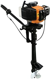 TFCFL 2 Stroke 3.5HP Heavy Duty Outboard Motor Boat Engine AIR Cooling System CDI Water Cooling System Shipping from USA