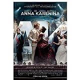 Anna Karenina (2012) Carteles e impresiones de películas Lienzo Arte de la pared Decoración del hogar Lienzo Pintura Imágenes Impresión -50x70cm Sin marco
