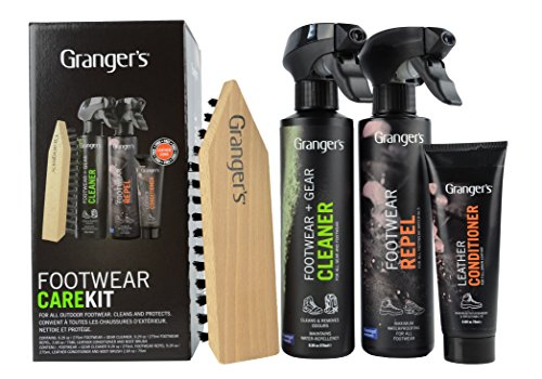 Grangers All-In-One Kit de Cuidado de Tienda y Equipo, Unisex Adulto, Negro, 300 ml