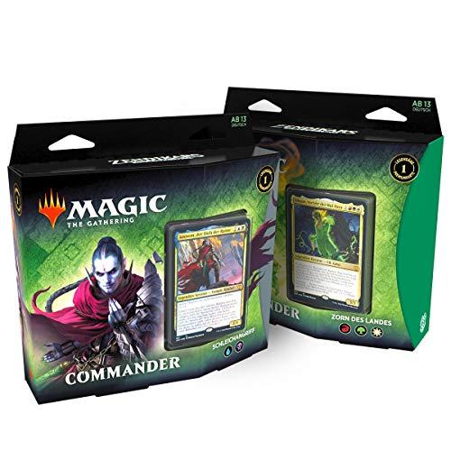 MTG Zendikar Erneuerung Commander Deck DE, Bundle, Magic: The Gathering