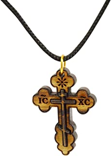 Best olive wood cross necklace Reviews