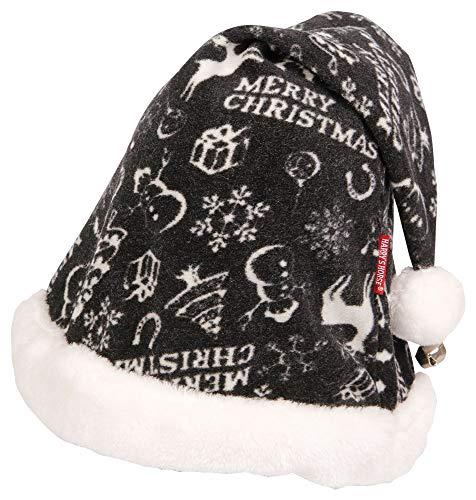 Harry´s Horse Weihnachtsmütze Weihnachten 2019, Farbe:schwarz