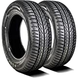 Set of 2 (TWO) Forceum D800 All-Season Touring Radial Tires-195/65R15 91V