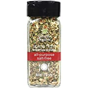 Simply Organic Spice Right Everyday Blends All-Purpose Salt-Free, Certified Organic | 1.8 oz
