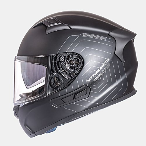 CASCO MT KRE NEGRO MATE SOLID (S)