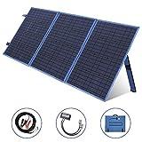 SARONIC 150W 12V Tragbarer Faltender Sonnenkollektor mit einem 10A Solarladeregler für Camper,...