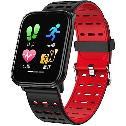 LYYAN Inteligente Rastreador de Ejercicios Inteligente Relojes Smartwatch con Una Función De Deportes Aplicaciones y la Muñeca del Ritmo Cardíaco Reloj