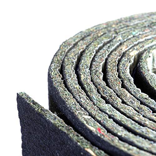 Noise Layer™ | Pannelli Fonoassorbenti Fonoisolanti Antirumore Poroso Adesivo per Correzione Acustica Insonorizzazione e Isolamento Acustico | Rotolo da 5 metri Made in Europe |