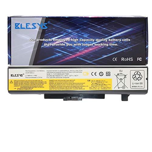 BLESYS 11.1V/6600mAh L11S6Y01 battery LENOVO L11L6F01 L11L6R01 L11L6Y01 L11M6Y01 L11N6R01 L11N6Y01 L11P6R01 L11S6F01 Replacement Laptop Battery fit Lenovo IdeaPad G480 G580 Y480 Y580 V480 V580 Z380