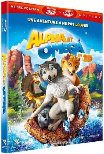 Alpha et Omega Active [Combo Blu-Ray 3D + DVD]