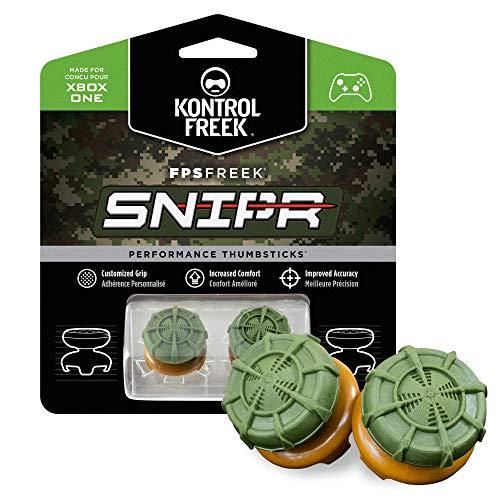 KontrolFreek FPS Freek® SNIPR per Xbox One Controller | 2 Performance Thumbsticks | 2 Alti Convessi | Verde