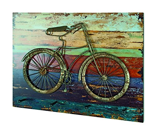Haku-Möbel Wandgarderobe, Vintage, 7 x 53 x 40 cm