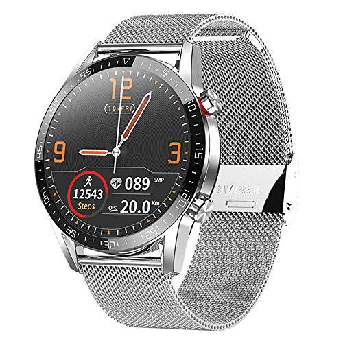 Smartwatch para hombres IP68 impermeable deportes actividad tracker ritmo cardíaco sueño monitoreo calorías contador podómetro full touch bluetooth cámara música-2
