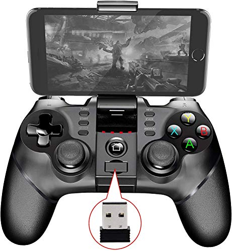 Wireless Gamepad Multifunctionele Bluetooth / 2.4G Wireless Gamepad voor Android/Windows PC / PS3