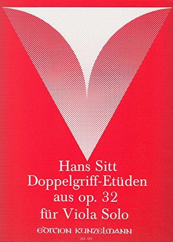 SITT - Estudios (20) Op.32 Vol.2: 20 Estudios en 3ª y 4ª Posicion para Viola (Klemm)