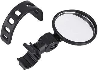Alomejor 360 /° Ruota Lato Specchietti Retrovisori Bici Vista Posteriore Specchietto Ciclismo con Universale Manubrio Bar per Moto Bicicletta