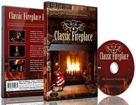 Fire DVD - Classic Fireplace for Romantic Evenings and Diner Partys