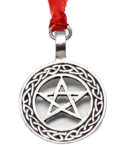 Trilogy Jewelry Pentagram Celtic Knot Pentacle Pagan Pewter Christmas Ornament Holiday Decoration