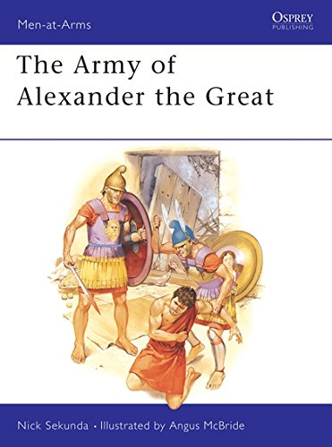The Army of Alexander the Great (Men at Arms Series, 148)