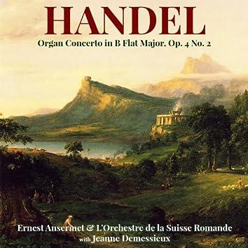 Handel: Organ Concerto in B Flat Major, Op. 4 No. 2