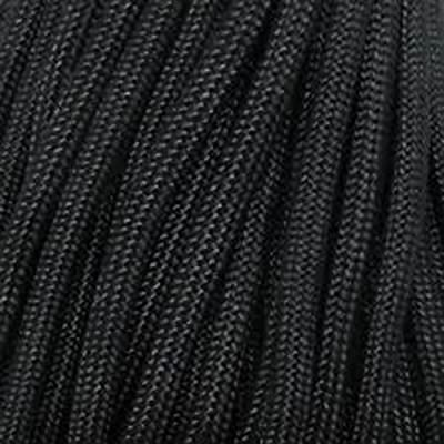 100ft 550 Paracord Parachute Cord Lanyard Mil Spec Type III 7 Strand Core (Black)