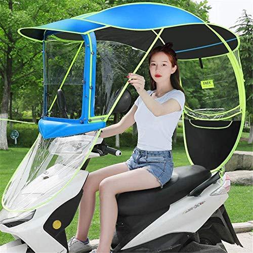 Universele motorfiets paraplu zonnescherm regenhoes, elektrische auto paraplu luifel waterdicht