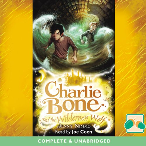 Charlie Bone and the Wilderness Wolf audiobook cover art