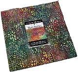 Maui Batiks Layer Cake 42 10-inch Squares Moda Fabrics 4353LC