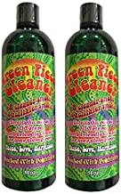 2 Count - Green Piece Cleaner 16 oz - The All Natural Glass Cleaner, Metal and Ceramic Water Pipe - Earth Friendly Resin Remover
