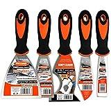 5 Piece Premium Stainless Steel,home tool kit,home repair tools,tool set,tool kit,multi-use,paint...