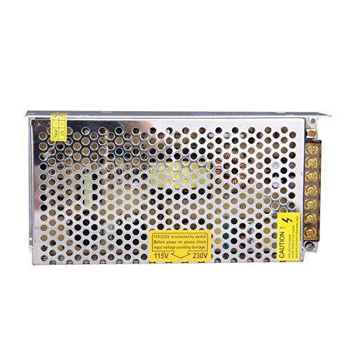 LEADSTAR 12V 10A 120W Trafo Transformator Adapter Netzteil Schaltnetzteil Stromversorgung für LED Strip RGB Streifen und weitere Geräte mit DC 12V