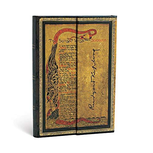Paperblanks Hardcover Journals Kipling, El Cantar de los Cantares   Rayado   Mini (100 × 140 mm)