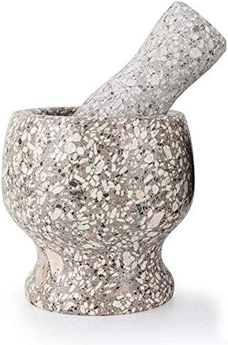 Mörser Und Stößel Anzüge, Medizinische Kräuter Gewürze Knoblauch Gewürz Produkte Steinschleifen, Ein Haushaltsküchenhelfer