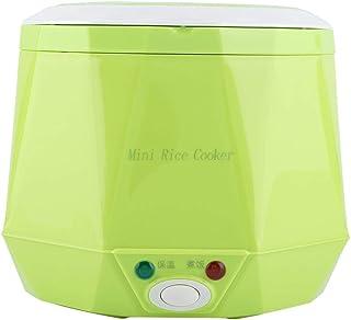 1,6 l mini rijstkoker, elektrische lunchbox mini elektrische pot draagbare multifunctionele kookpan stoompan met antiaanba...