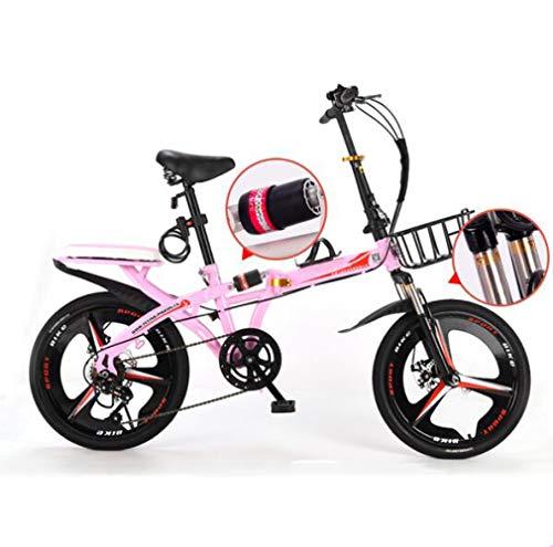 Nobuddy 19 Pulgadas Plegable De Aluminio Bicicleta De Paseo