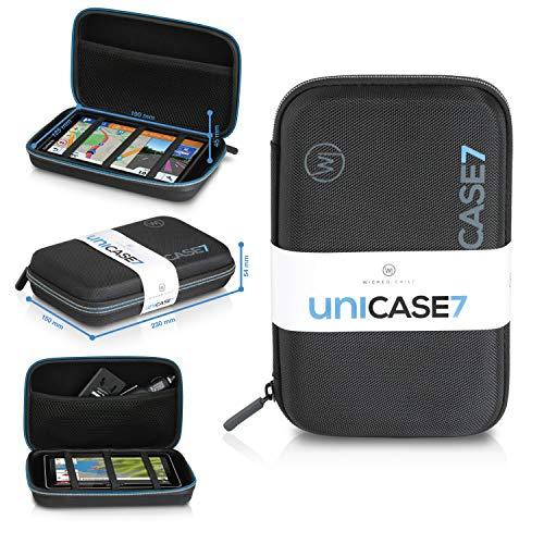 Wicked Chili Navi Case, Tasche für Navigationsgeräte (6 Zoll / 6,95 Zoll / 7 Zoll) Schutzhülle AWESAFE, Garmin DriveSmart/dezl, Jimwey GPS, Aonerex, Becker Ready, nüvi (Innen: 190 x 125 x 45mm)