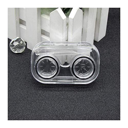 LDGR Bunte Kontaktlinse-Kasten Wasserdicht Dicht Tragbare Mini-Kontaktlinsen-Aufbewahrungsbehälter Farbige Augenkontaktlinsen Fall 35g (Color : 01)