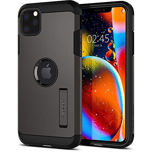 Spigen Tough Armor Funda iPhone 11 Pro MAX, Compatible con Apple iPhone 11 Pro MAX (6.5') 2019 - Gunmetal