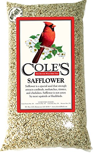 Cole's Wild Bird Products 751478100449 Cole's SA10 Safflower Birdseed, 10-Pound, 10 lb