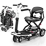 Pride Go-Go S19 Folding Mobility Scooter for Adults, SLA Battery