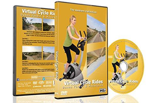 Virtuelle Fahrradstrecken – Dünen, Wälder und Berge – Für Indoor Radfahren, Laufband und Laufworkouts