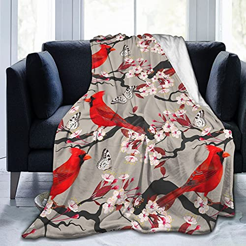 Cardinals Birds Blanket